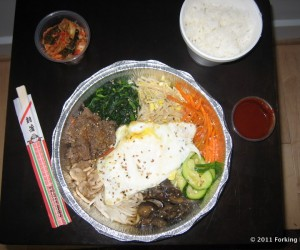 Bibimbap (Before)